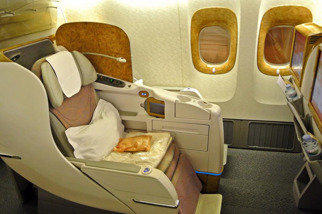 Emirates 777 Aisle Seat