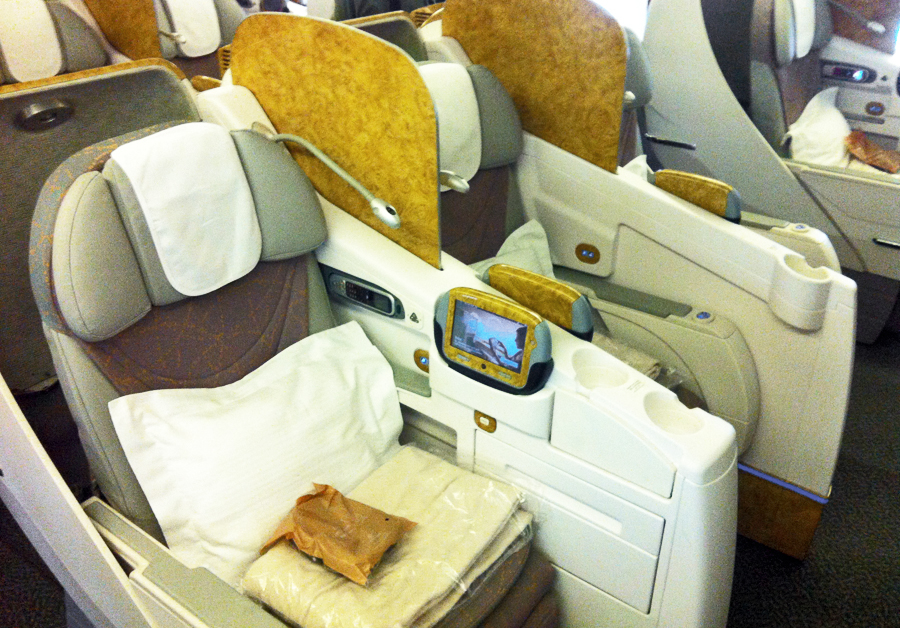 Emirates 777 Seats