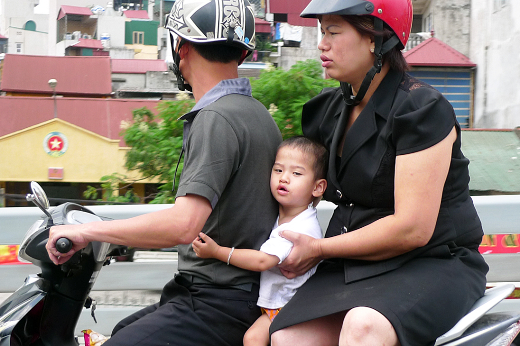 Hanoi, Kid On Scooter