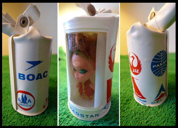 Strange Airline Doll Toy