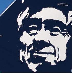 Alaska Airlines Man