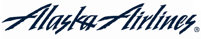 Alaska Airlines Old Typeface