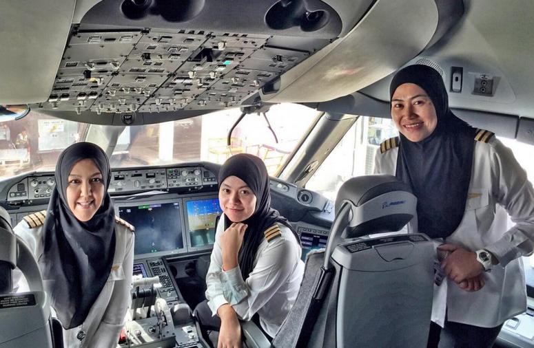 Royal Brunei Female Crew