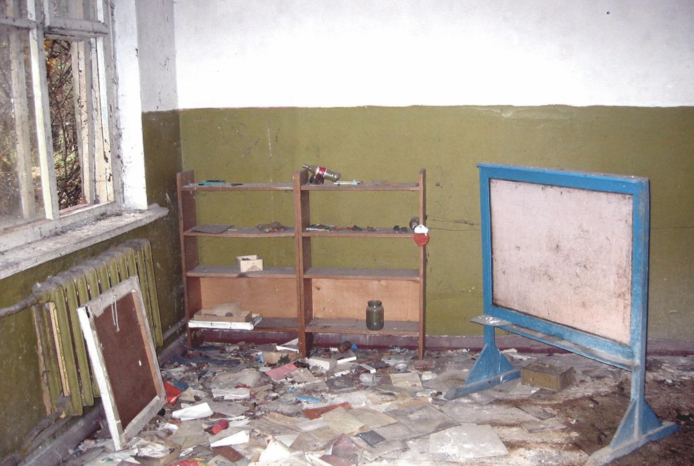 Chernobyl Pripyat Classroom