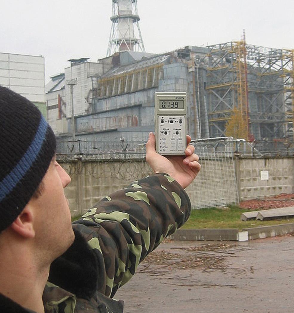 Chernobyl Reactor Four (Detail)
